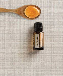 Copaiba esenciálny olej doTERRA lyžička s medom