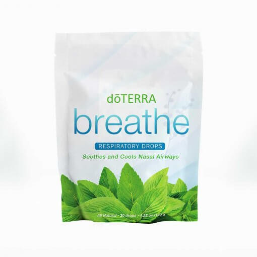 Breathe doTERRA drops, cukriky na dychanie respiratory drops dadoma.sk