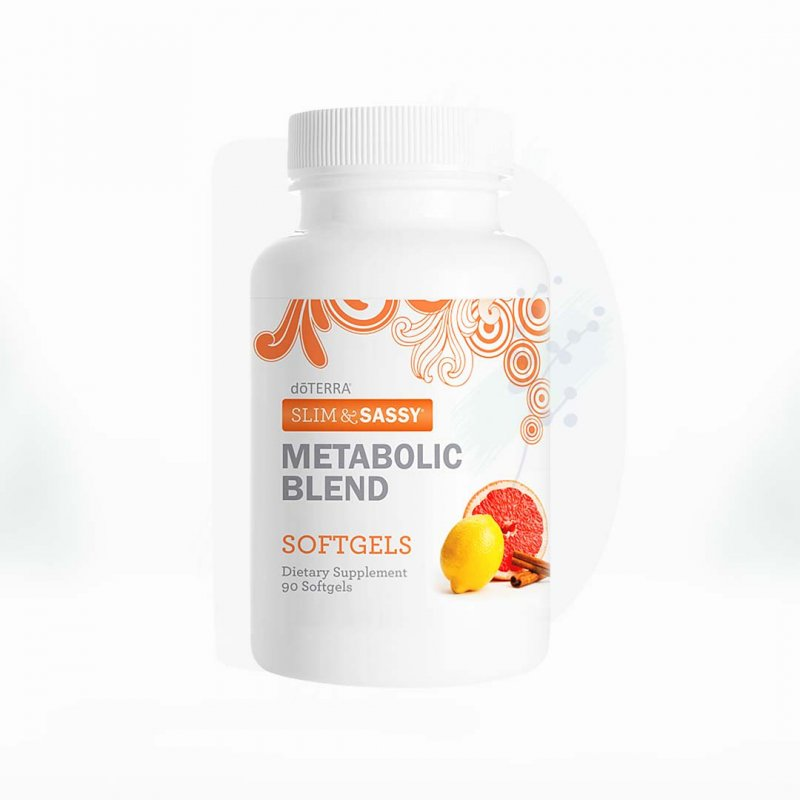 Slim&Sassy doterra kapsule metabolic blend softgels 90ks dadoma.sk