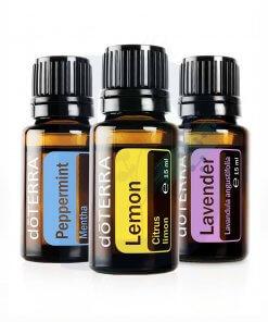 doterra trio esenciálne oleje levanduľa citrón mäta aromaterapia 3x15ml dadoma.sk